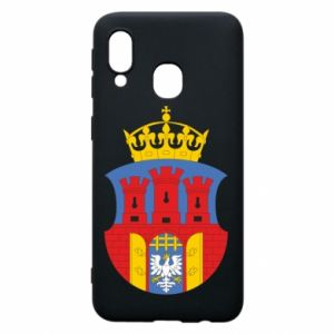 Phone case for Samsung A40 Krakow coat of arms