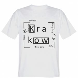 T-shirt Krakow and other cities