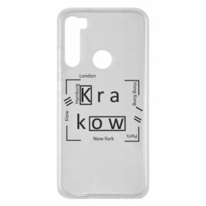 Xiaomi Redmi Note 8 Case Krakow and other cities