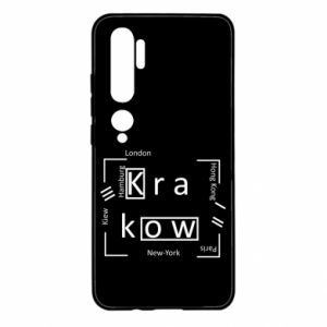 Xiaomi Mi Note 10 Case Krakow and other cities