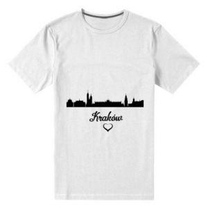 Men's premium t-shirt Kraków.