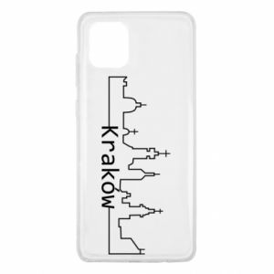 Etui na Samsung Note 10 Lite Kraków. Miasto