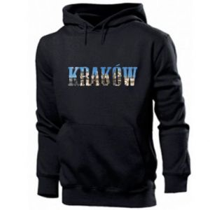 Męska bluza z kapturem Kraków