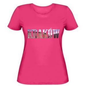 Women's t-shirt Krakow