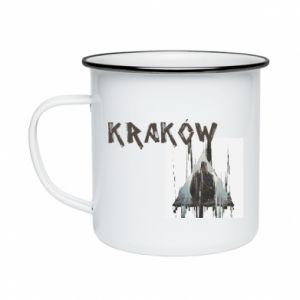 Kubek emaliowane Kraków