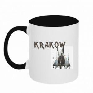 Kubek dwukolorowy Kraków