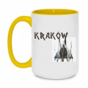 Two-toned mug 450ml Krakow