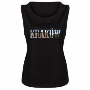 Damska koszulka bez rękawów Kraków