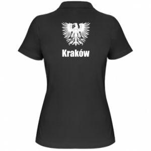 Damska koszulka polo Kraków - PrintSalon