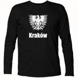 Koszulka z długim rękawem Kraków - PrintSalon