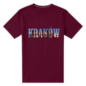 Men's premium t-shirt Krakow