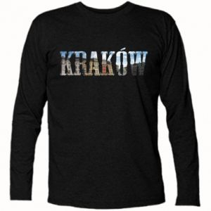 Koszulka z długim rękawem Kraków