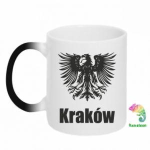 Kubek-kameleon Kraków - PrintSalon
