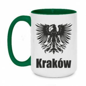 Two-toned mug 450ml Krakow
