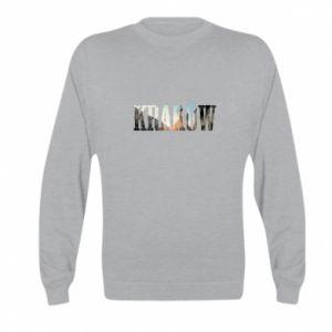 Kid's sweatshirt Krakow