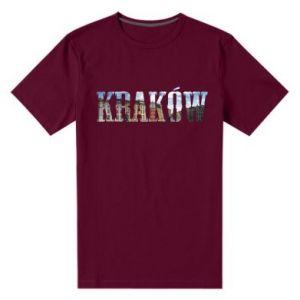 Męska premium koszulka Kraków