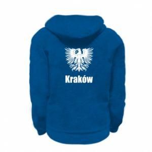 Kid's zipped hoodie % print% Krakow