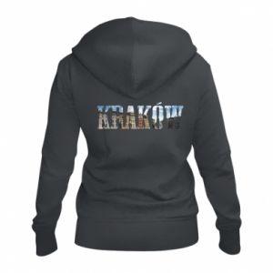 Damska bluza na zamek Kraków - PrintSalon