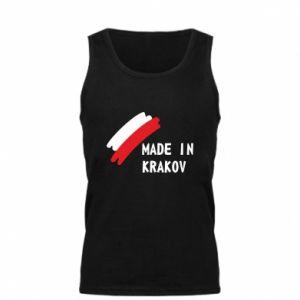 Męska koszulka Made in Krakow - PrintSalon