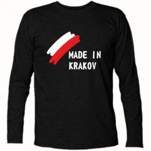Koszulka z długim rękawem Made in Krakow - PrintSalon