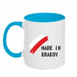 Kubek dwukolorowy Made in Krakow - PrintSalon