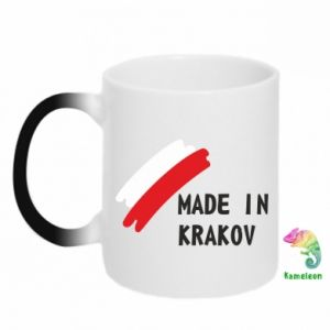 Chameleon mugs Made in Krakow