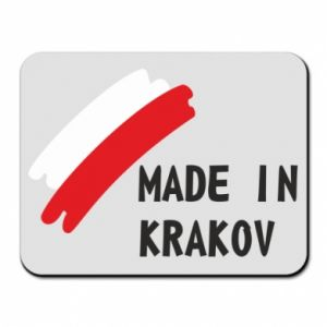 Mouse pad Made in Krakow