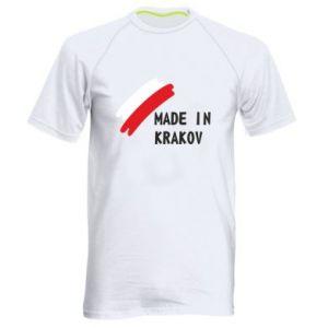 Men's sports t-shirt Made in Krakow