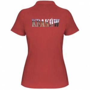 Damska koszulka polo Kraków