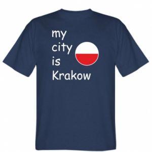 Koszulka My city is Krakow