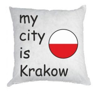 Poduszka My city is Krakow