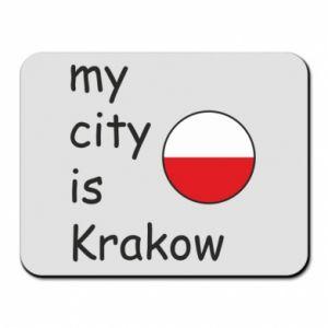 Podkładka pod mysz My city is Krakow