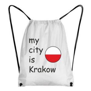 Plecak-worek My city is Krakow