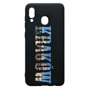 Phone case for Samsung A30 Krakow