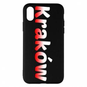 iPhone X/Xs Case Krakow
