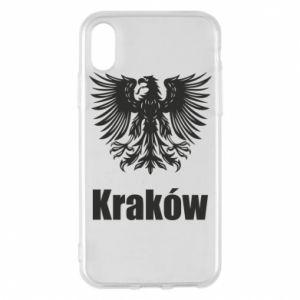 Etui na iPhone X/Xs Kraków - PrintSalon
