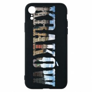 Phone case for iPhone XR Krakow
