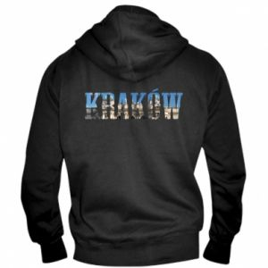 Men's zip up hoodie Krakow