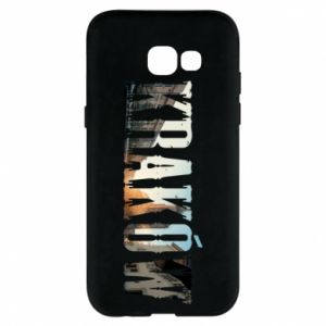 Phone case for Samsung A5 2017 Krakow