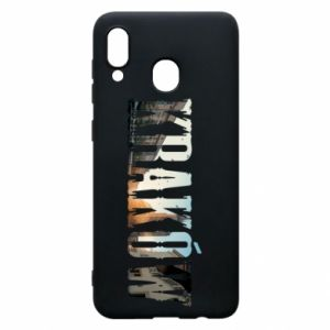 Phone case for Samsung A20 Krakow