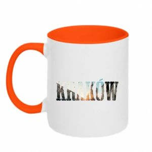 Two-toned mug Krakow