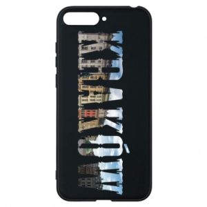 Phone case for Huawei Y6 2018 Krakow