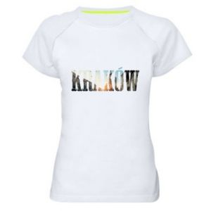 Women's sports t-shirt Krakow