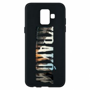 Phone case for Samsung A6 2018 Krakow