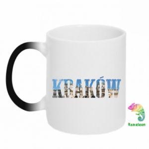 Kubek-kameleon Kraków