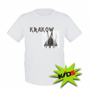 Kids T-shirt Krakow