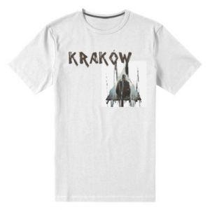 Męska premium koszulka Kraków - PrintSalon