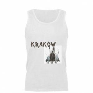 Męska koszulka Kraków - PrintSalon