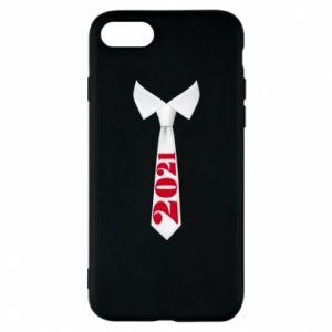 Etui na iPhone 7 Krawat Sylwestrowy