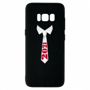 Etui na Samsung S8 Krawat Sylwestrowy